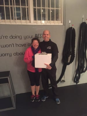 Personal Training in London - AG Personal Fitness - AG Personal Fitness - Client of the Month January '17