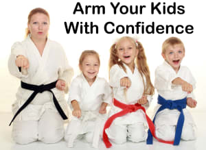 Kids Karate in San Antonio - Talamantez Karate - Confidence Building
