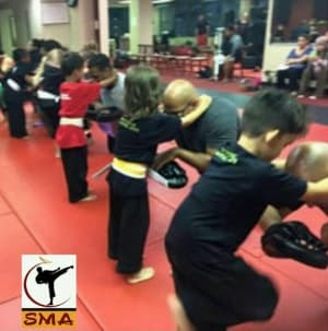 Kids Kickboxing in Howell - Sovereign Martial Arts