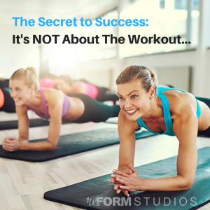 Personal Training in North Charleston - reFORM Studios - The secret to success: It's not the workout...