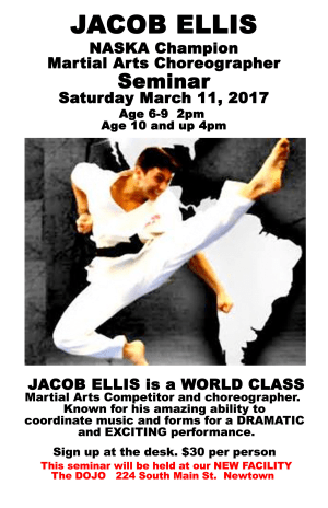 Kids Martial Arts in Danbury - Connecticut Martial Arts - Jacob Ellis Seminar