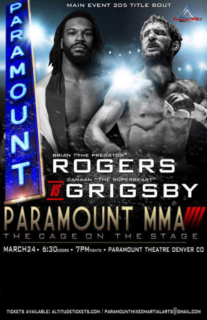 Kids Mixed Martial Arts in Englewood - Factory X Muay Thai - Brian Rogers fights in DENVER AS THE MAIN EVENT for Paramount MMA 3/24!