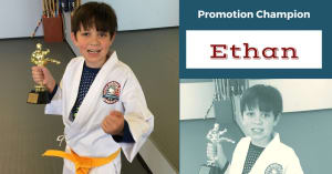 Kids Martial Arts in Naperville - PRO Martial Arts Naperville - Belt Test Champions - Ethan & Hasini