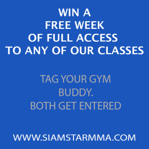 Siam Star MMA Get a chance to win a FREE week of Martial Arts classes