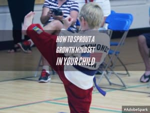 Kids Karate  in Levittown - Amerikick Martial Arts - How to Sprout a Growth Mindset in Your Child