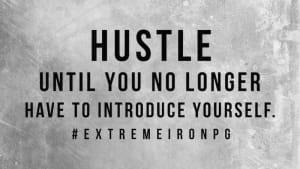 Gym Services in Far North Dallas - Extreme Iron Pro Gym - [INSPIRATION] HUSTLE