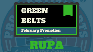 Kids Martial Arts in Naperville - PRO Martial Arts Naperville - Rupa Earns Her Green Belt - PRO Martial Arts Naperville
