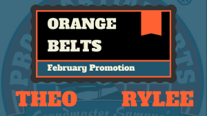 Kids Martial Arts in Naperville - PRO Martial Arts Naperville - Rylee and Theo Test For Orange Belts