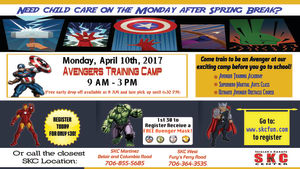 Kids and Teens Karate in Martinez - Seigler's Karate Center - Avengers Camp