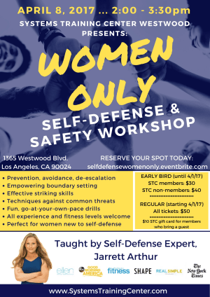 Kids Martial Arts in Hawthorne - Systems Training Center - Women's Only Self Defense and Safety Workshop!
