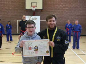 Kids Martial Arts in Kingston - Adapt Choi Kwang Do - A new black belt in kingston