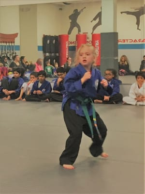 Kids Martial Arts in Naperville - PRO Martial Arts Naperville - Advanced Green Belt Promotion in Naperville