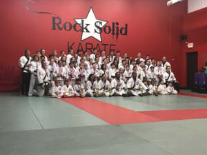 Kids Karate in Gainesville and Flowery Branch  - Rock Solid Karate - Tournament Pictures