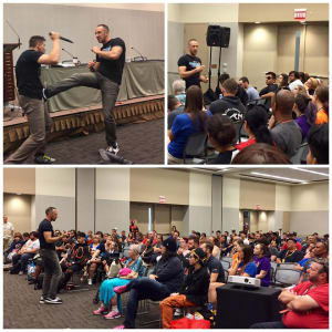 Kids Self Defense in Phoenix - EVKM Self Defense & Fitness - EVKM at Phoenix Comicon