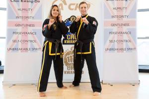 Kids Martial Arts in Kingston - Adapt Choi Kwang Do - class at 2:30 pm