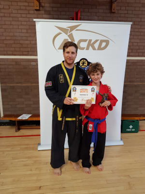 Kids Martial Arts in Kingston - Adapt Choi Kwang Do - Student of the month