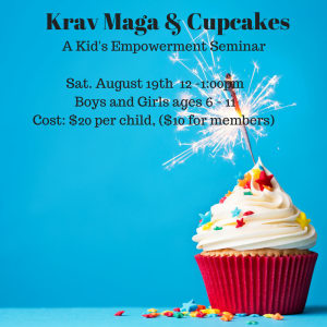Kids Martial Arts  in Austin - Fit And Fearless - Krav Maga & Cupcakes: A Kid's Empowerment Seminar