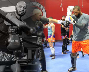 Kids Martial Arts in Charlotte - FTF® Fitness and Self-Defense - Dutch Muay Thai and Muay Thai for Clinch Seminar with Buck Grant