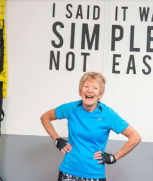 Personal Training in London - AG Personal Fitness - Sue Wade Client of The Month July 2017
