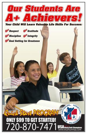 Kids Martial Arts  in Aurora - National Martial Arts Academy - Back 2 School