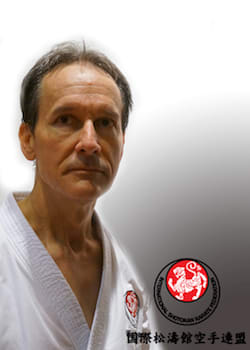Barry O'Brien in Mesa - Shotokan Karate of Arizona