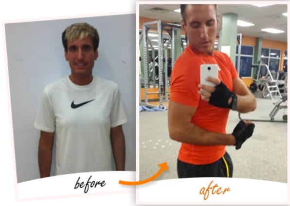 Jason | Gained 10lbs of muscle & lost 9 inches, Page Fitness Testimonials