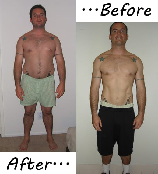 "Matt lost 30 pounds in 6 months and has ""never felt so health"" in his entire life, Custom Bodies Fitness Testimonials"
