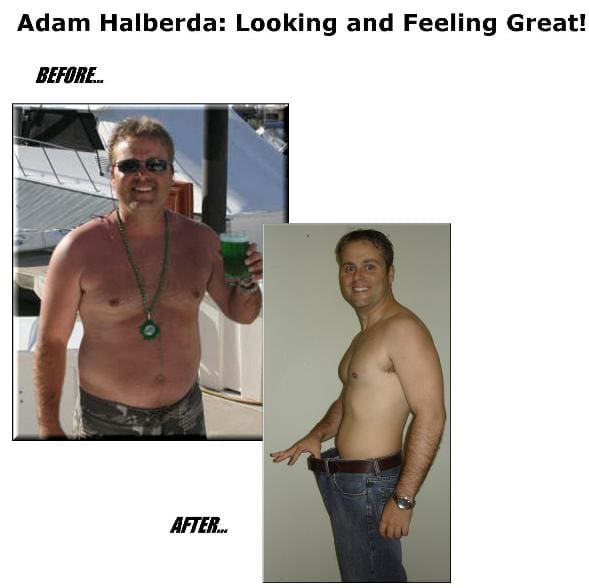 Adam lost 16.5% body fat in 21 weeks working with a CBF personal trainer!, Custom Bodies Fitness Testimonials