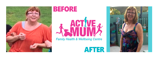 Tracey Challicombe, Active Mum Testimonials