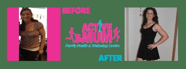 Cherry Fratto, Active Mum Testimonials
