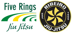 Five Rings Jiu Jitsu - Bethany Logo