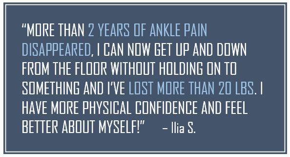Ilia Stacy, Spectrum Fitness Consulting Testimonials