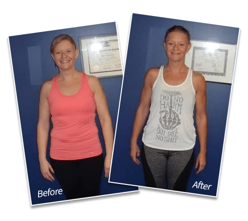 Sarah MacBurnie - Lost 14 lbs of fat | Gained 4.7 lbs of muscle | Decreased body fat by 8.1%, Spectrum Fitness Consulting Testimonials