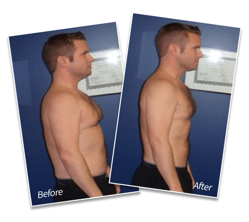 Adam Moore | Lost 18 lbs of fat | Lost 4.25 inches off waist | Lost 9% body fat, Spectrum Fitness Consulting Testimonials
