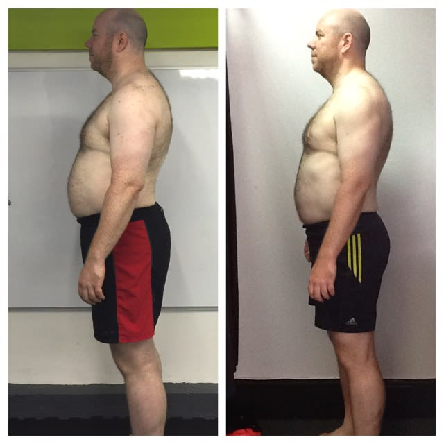 Rob Rodger, Intensity Boot Camp and Personal Training Member, Burn It Fitness Testimonials