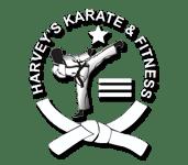 Harvey's Karate & Fitness Logo