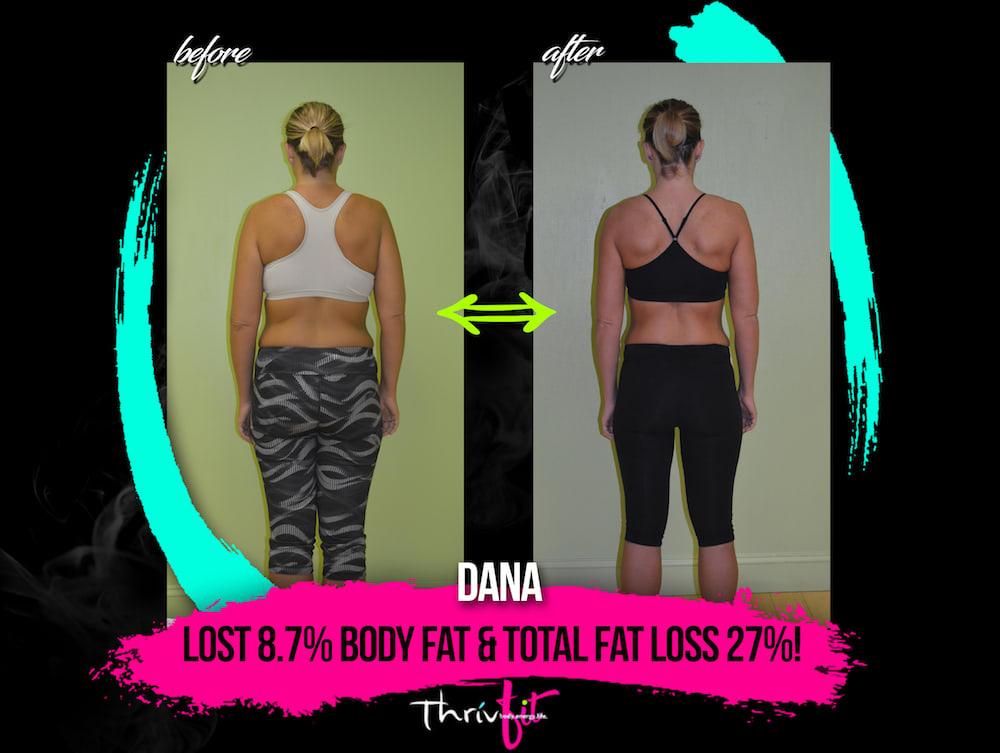 Dana P, ThrivFIT Testimonials