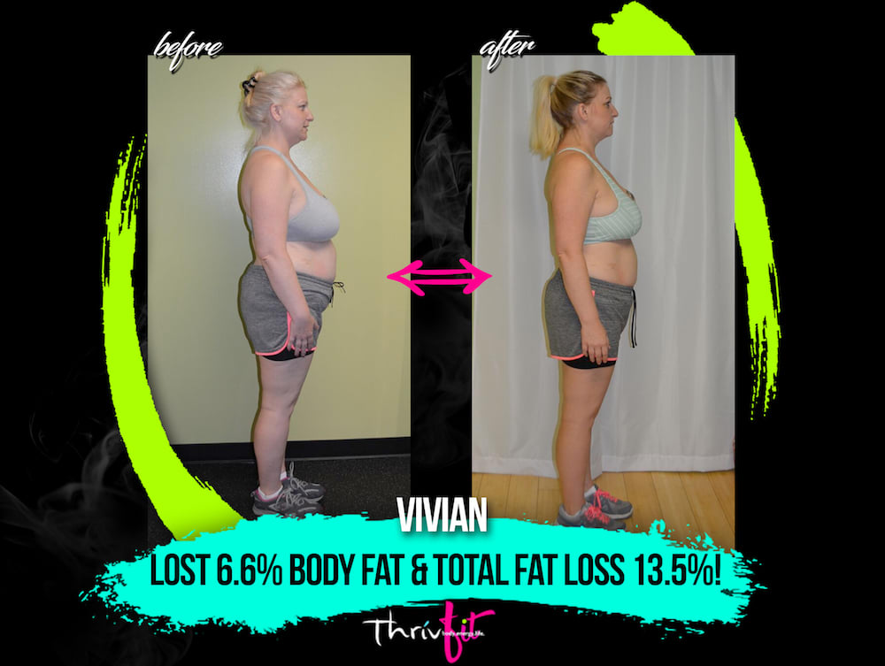 Vivian E, ThrivFIT Testimonials