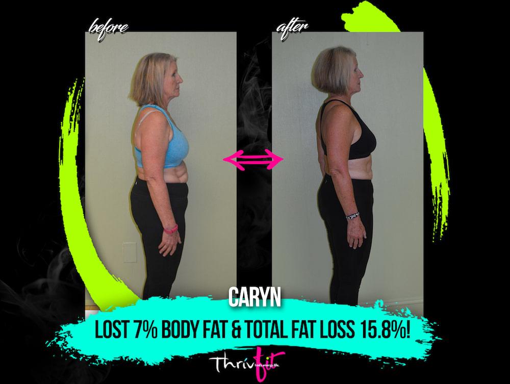 Caryn P, ThrivFIT Testimonials