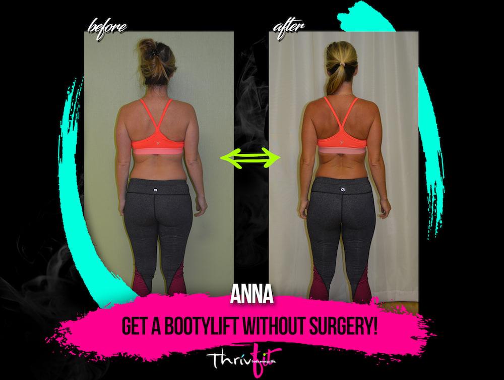 Anna M, ThrivFIT Testimonials