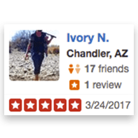 Ivory N., Shotokan Karate of Arizona Testimonials