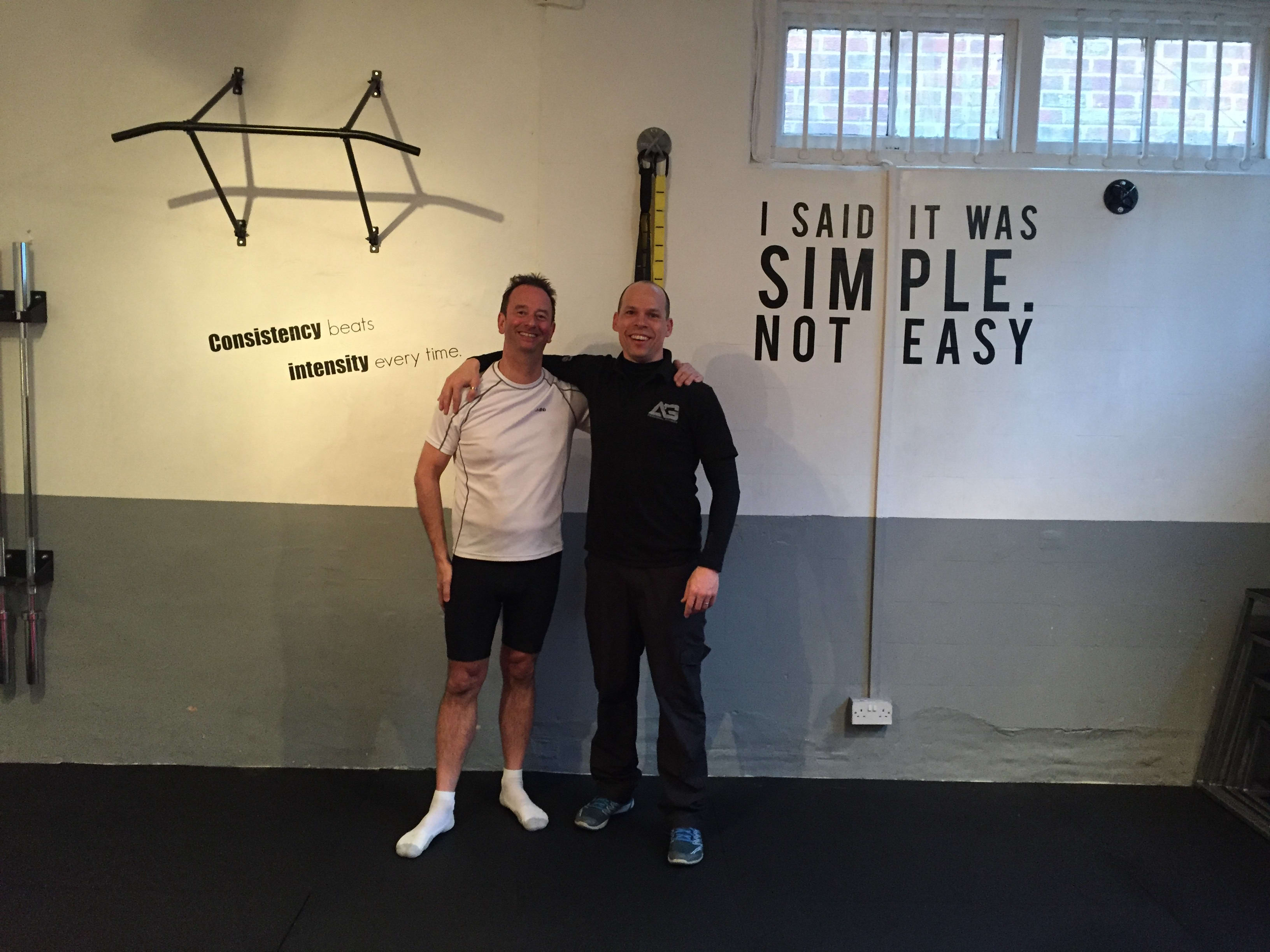 Peter, AG Personal Fitness Testimonials