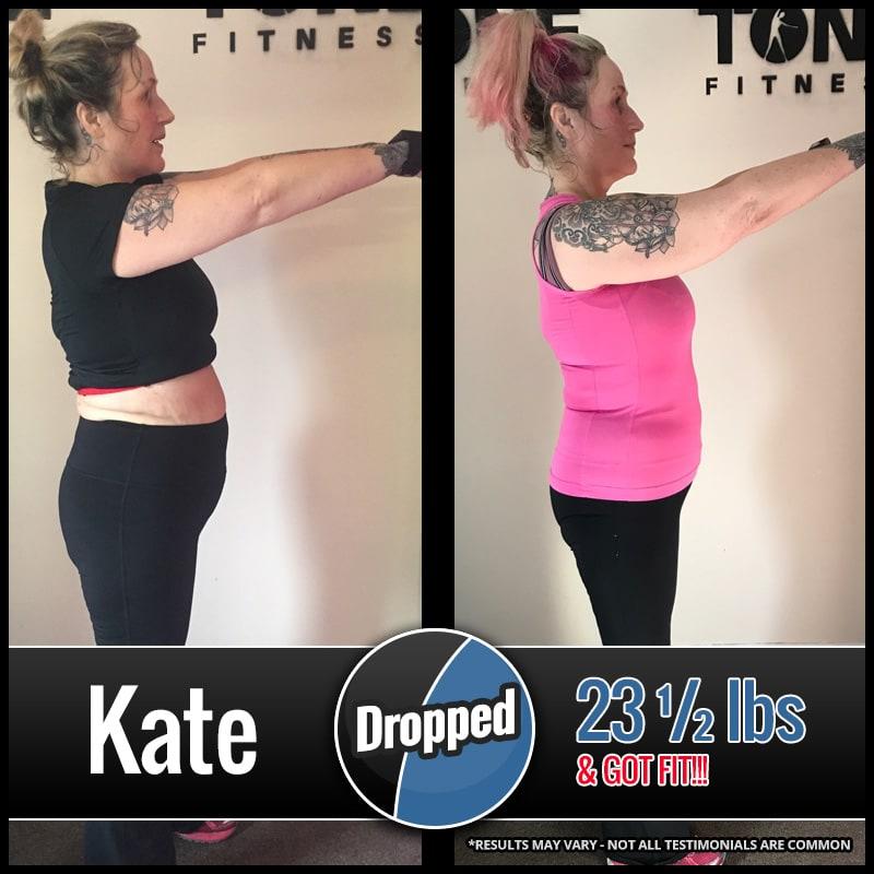 Kate, Tone Fitness testimonials