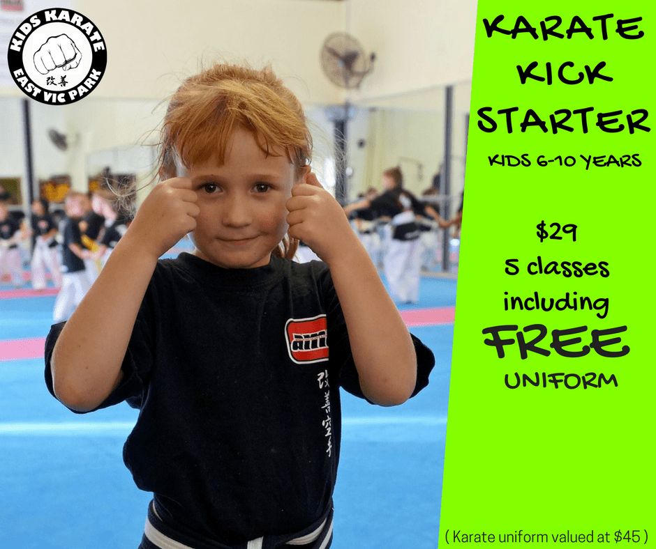 KARATE KICKSTARTER in East Victoria Park - Advanced Martial Arts & Fitness