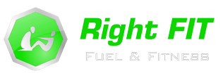 Right Fit - Fuel & Fitness Logo