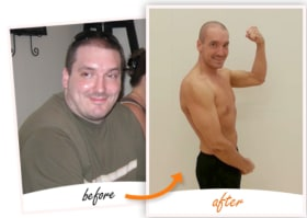 Page Fitness Dave Foster | Lost 102 lbs & 46 inches