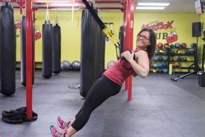 Kersey Kickbox Fitness Club TRX Training