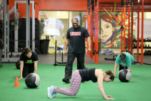 Page Fitness Group Training