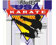 Faust's USA Karate Logo