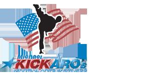 Kickaro's Martial Arts & Fitness Logo